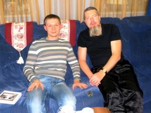 Александр Родин и Игорь Гришин, декабрь 2012