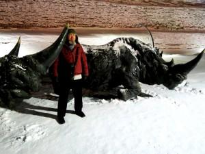 Шерстистый носорог Самаровского останца
